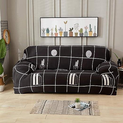 Funda De Sofá 1/2/3/4 Plazas Couch Cubierta Engrosamiento De ...