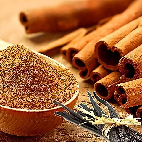 Amber Cinnamon & Vanilla Perfume Roll On Fragrance Oil EXTRA STRONG 0.40oz/12ml - Cinnamon Scented Perfume