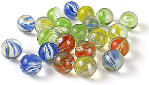 Vientiane Mármoles de Cristal Coloridos, 420 Pedazos Juguetes de Bolas de Canicas, Diámetro de 14 mm para Juguetes de la Decoración, Consolas de Juegos, Decoración de la Planta Hidropónica: Amazon.es: Jardín