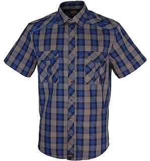 ROCK-IT Apparel® Camisa de Hombre de Ocio a Cuadros 100% algodón Mano de Obra Made in Europe Tallas S-5XL: Amazon.es: Ropa y accesorios