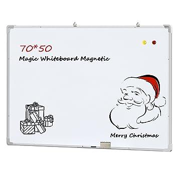 Ogima Pizarra magnética de borrado en seco mini oficina aviso memo tablero blanco (500 * 700mm)