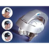 Almand Electric Head Brain Relax Plastic Massager (Silver)