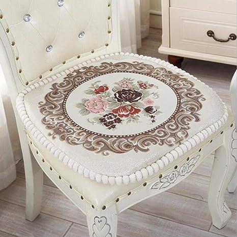Amazon.com: Cojín de asiento para sillas de cocina, de ...