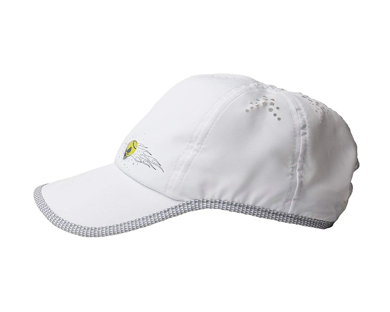 3ea80234 Amazon.com: Tennis Hat w/Snapback Closure | Moisture-Wicking I Lightweight  w/Ventilation Holes (Black): Sports & Outdoors