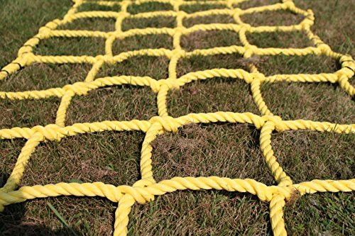 Climbing Rope Net (Climbing Net Cargo Net Made From Heavy Duty 3/4