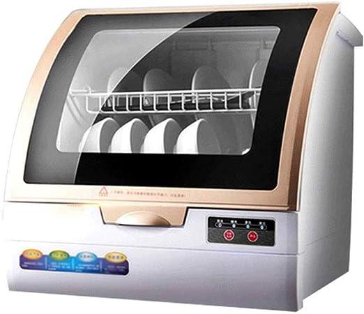 ZWHDS Mini Lavavajillas, hogar Completamente automático Escritorio ...