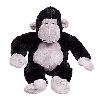 Cuddly Soft 8 inch Stuffed Silverback The Gorilla...We Stuff 'em...You Love 'em!: Toys & Games
