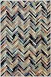 Mohawk Home Cascade Heights Caftan Stripe Multi Rug, 5′ 3″ x 7′ 10″ Review