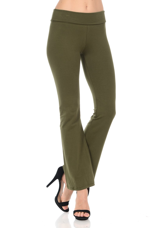 Fashion Aktiv PANTS レディース B076PQ13SY Medium|オリーブ オリーブ Medium