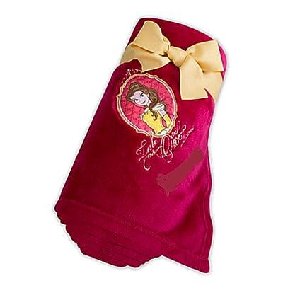 Disney Store Belle Fleece Throw Blanket: Home & Kitchen