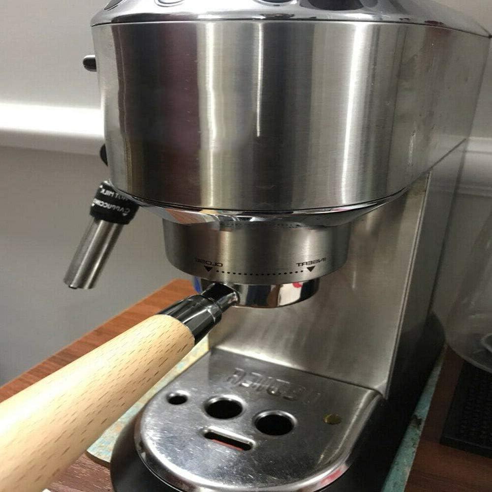 Portafiltro de café espresso sin fondo, 51 mm, para cafetera ...