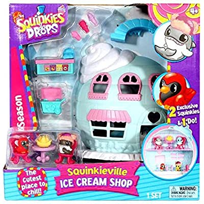 Squinkies \'Do Drops Season 1 Squinkieville Ice Cream Shop: Toys & Games [5Bkhe0700656]