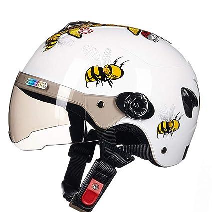 ZXW Casco- Niños Helmet Roller Skates Bicycle Cartoon Four ...