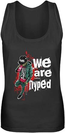 Hip-Hop Zombie Swag - Camiseta de tirantes para mujer: Amazon ...