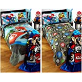Super Mario Bros. Mario Kart Reversible Comforter - Twin/Full