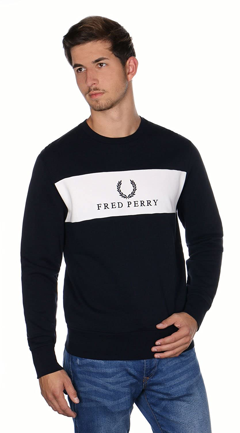 0120cd3077 good Fred Perry Panel embroidered