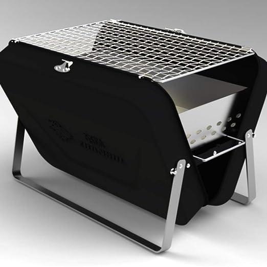Parrilla Al Aire Libre Horno de Cocina Carbón de Leña Plegable ...