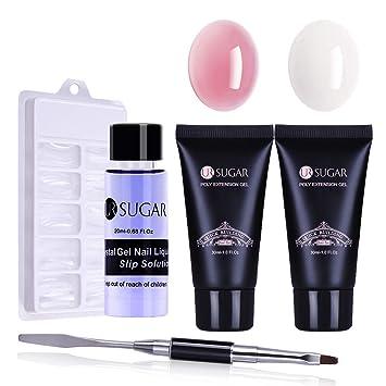 Amazon.com: UR Sugar Poly Builder Quick Gel para uñas: Beauty