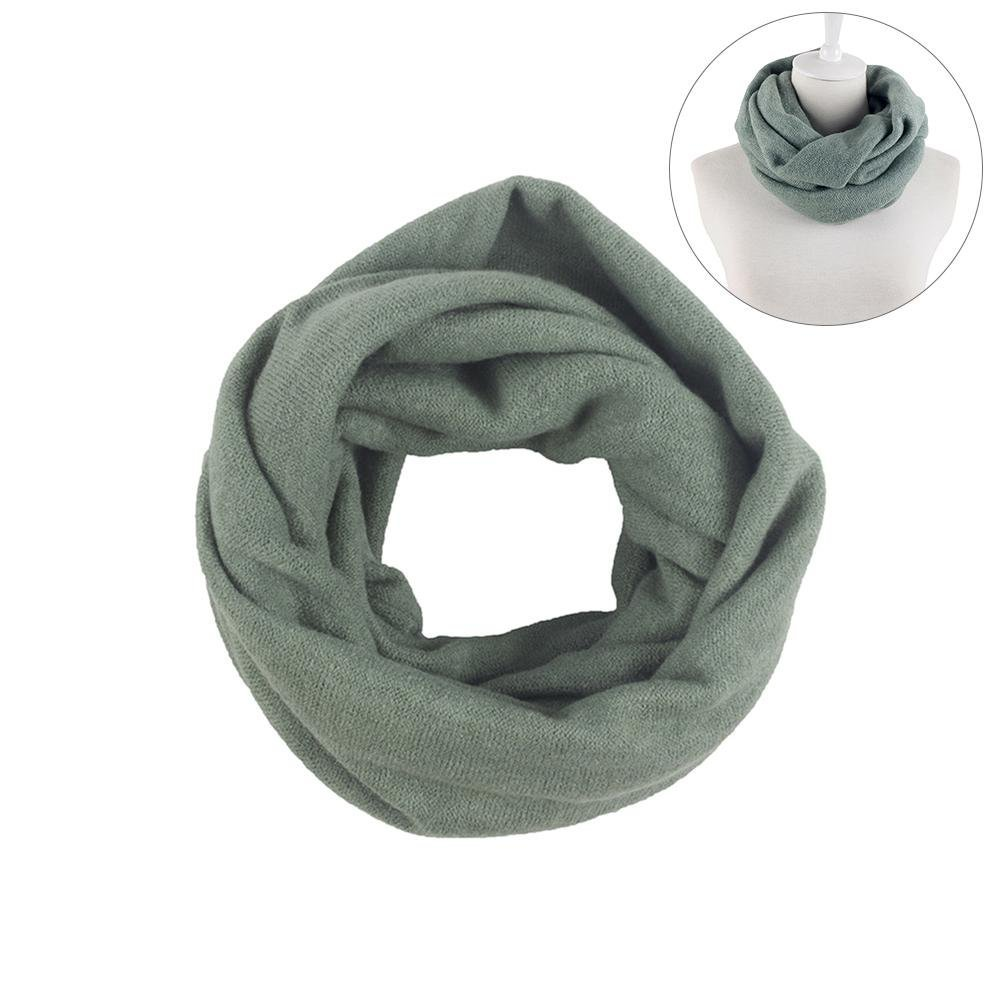 iBaste_Scarf Knitted Scarf Autumn And Winter Scarf Unisex