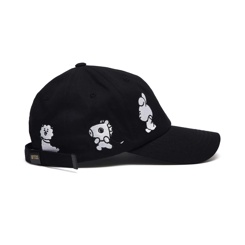 BT21 Official Merchandise by Line Friends - Black Baseball Cap Hats for Men  and Women at Amazon Men s Clothing store  e40c87dfd634