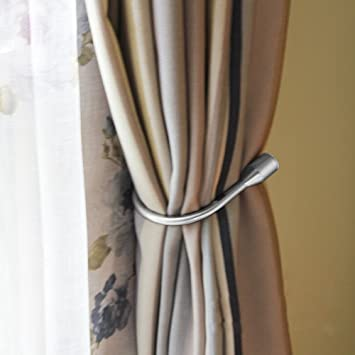 Gardinen Raffhalter amazon de egoera vorhang raffhalter metall vorhang raffhalter