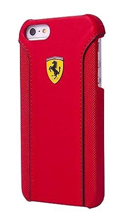Ferrari Fiorano PU Leather Hard Case iPhone 6 Plus - Red <span at amazon