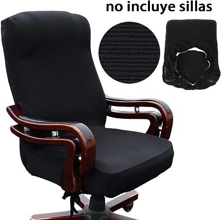 Btsky, coprisedia da ufficio in stile moderno, elasticizzato, rimovibile, resistente, per sedia girevole da ufficio con braccioli (sedia non inclusa),