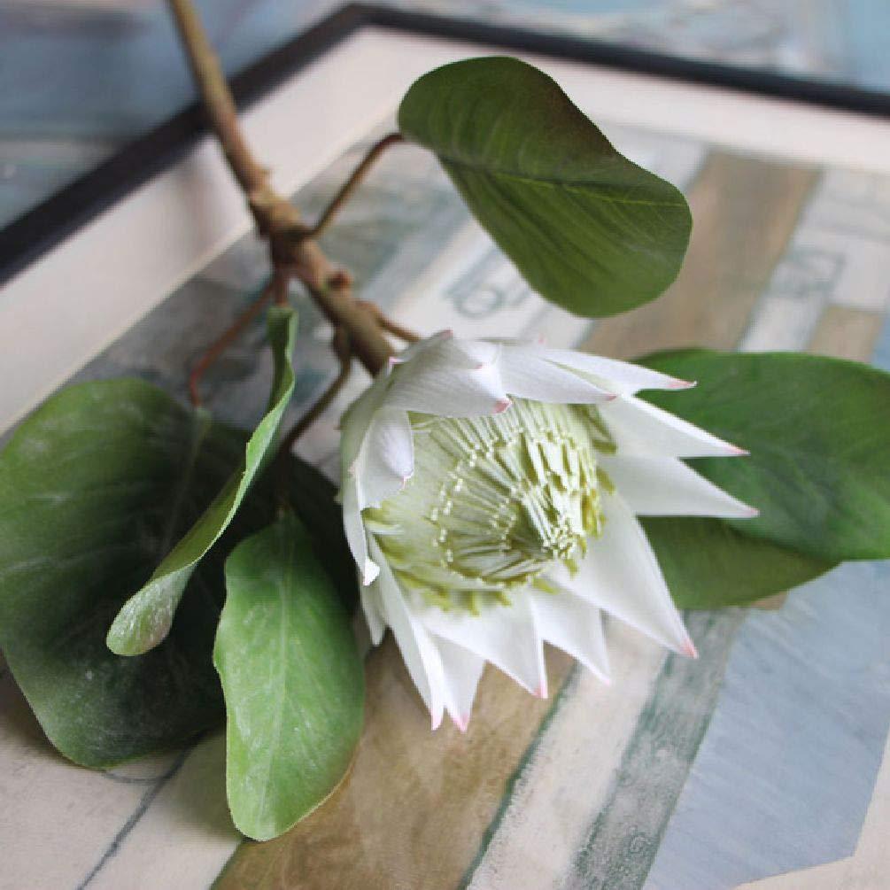 ファクトリー スモール エンペラーズ ハイエンドシミュレーション 植物 造花 One Size ホワイト SDJKL32790269232 B07GJPM1JP ホワイト