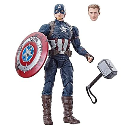 Amazon Com Marvel Legends Worthy Captain America Power And Glory