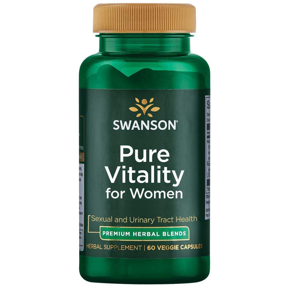 Swanson Pure Vitality for Women 60 Veg Caps