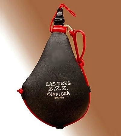 Las Tres Z.Z.Z. Bota de Vino Suprema de pez Recta - 2 litros ...