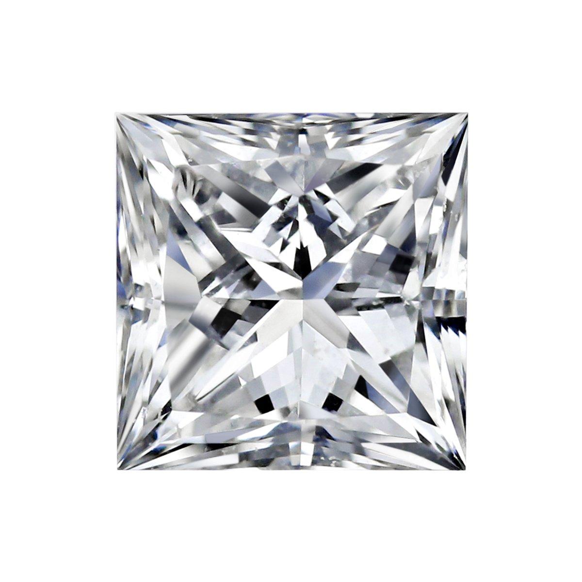 GIA Certified Princess Natural Loose Diamond (Carat: 0.95, Color ...