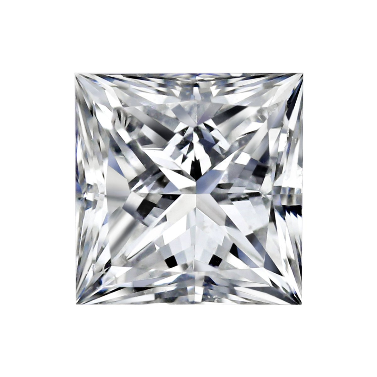 GIA Certified Princess Natural Loose Diamond ( Carat: 1.01, Color: F, Clarity: SI1 ) by Amazon Collection