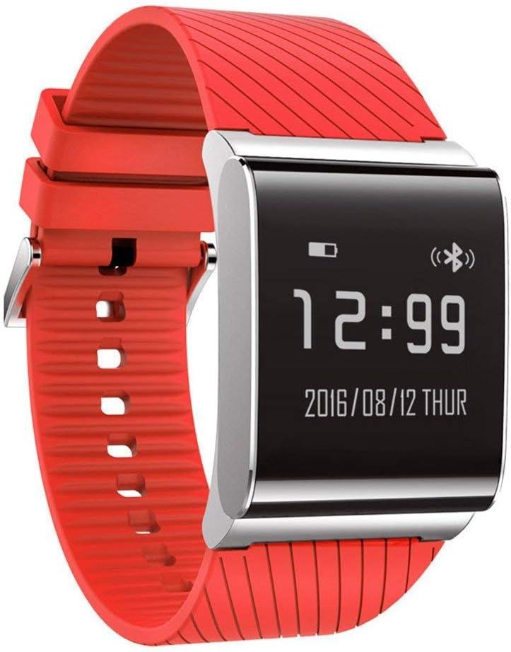 Smart Watch, MX Kingdom X9Pro Reloj de pulsera Smart banda multicolor Tensiómetro Pulsómetro De Oxígeno Tracker pulsera en Smart Watch para Android IOS