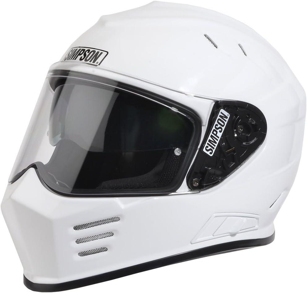 Simpson GBDXL1 Ghost Bandit Shield Dot XL White
