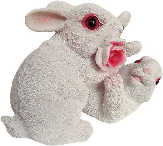 Estatua de Animal Conejo 3D Animales Decoración Figuras Grandes ...