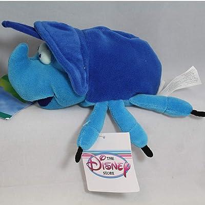 "A Bug's Life Disney's Dim 7"" Plush Beanie: Toys & Games"