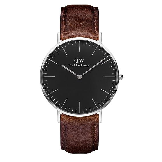 031c23131 Daniel Wellington Reloj Analógico para Unisex de Cuarzo con Correa en Cuero  DW00100131: Amazon.es: Relojes
