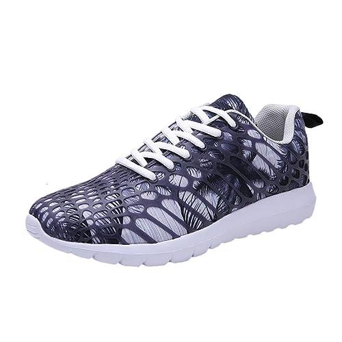 Zapatos de Pareja,Ouneed ® Unisex Mujeres Hombres Pareja Zapatillas Deportivas Casuales Zapatillas de Camuflaje