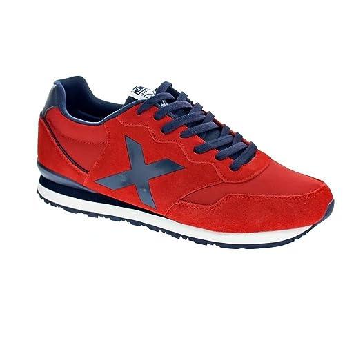 Zapatillas Munich Dash Roja/Azul - Color - 0, Talla - 43: Amazon.es: Zapatos y complementos