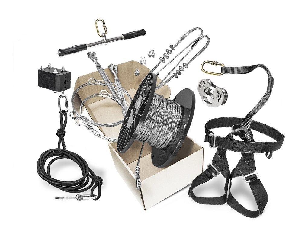 Rogue Zip Line Kit 200' by Zip Line Gear