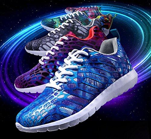 NEWZCERS Manera Zapatillas Los de Las de Bonitos Que Azul Zapatos Unisex Deporte Deportes La Los Funcionan de OrAzOwq