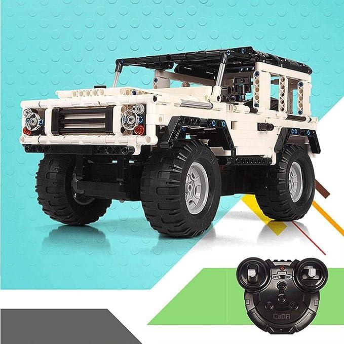 Liteness Para el vehículo de Control Remoto Double Eagle Building Block, RC Off Road Cars Land Rover Assembly Car de Alta Velocidad, vehículo Todoterreno ...