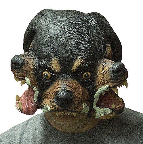 Forum Novelties Cerberus Three Headed Dog Latex (Cerberus Dog Costume)