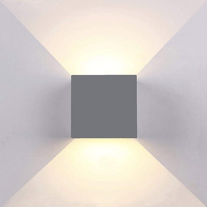 Plus De Ip65 Éclairage Interieur Couloir Escalier Topmo Murales Réglable Appliques Lampe Mur Sentier Chambre Luminaire 12w Aluminium Led Exterieur kXiuZP