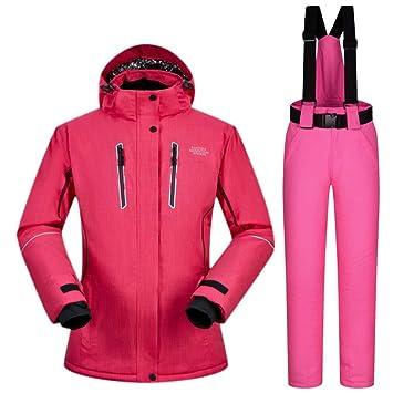 Zjsjacket Traje de Esqui para Mujer Trajes de esquí Marca de Nieve Trajes de esquí para