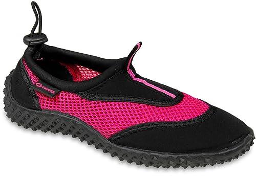 Gwinner zapatos de agua zapatos de surf de la aguamarina zapatos de las mujeres, negro / rosa, 35: Amazon.es: Zapatos y complementos