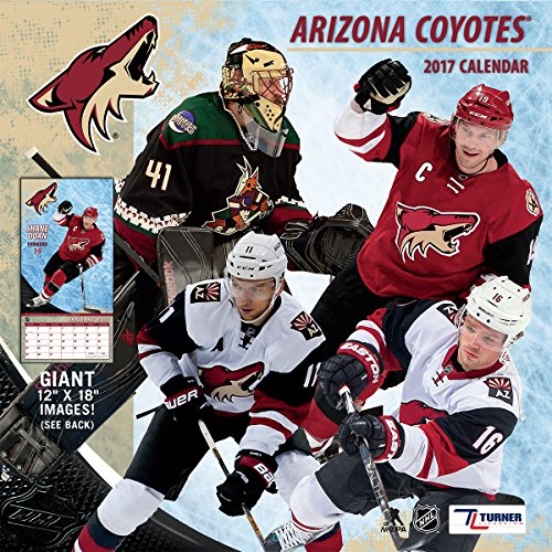"Turner Licensing Sport 2017 Arizona Coyotes Team Wall Calendar, 12""X12"" (17998011952)"