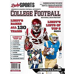 Lindy's Sports 2018 College National Football Preview (Covers Vary)
