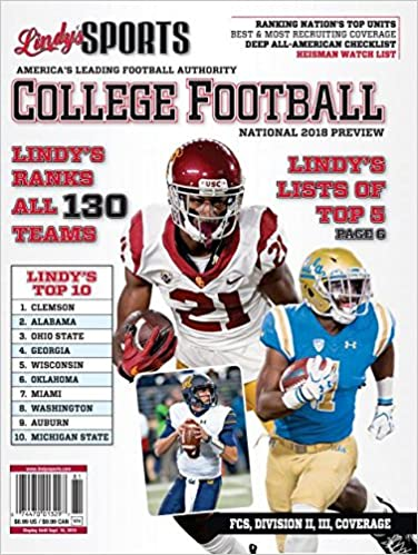 Lindy's Sports 2018 College National Football Preview
